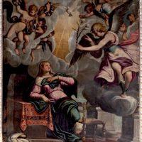 Annunciazione, di Antonio Gandino (parete sinistra)