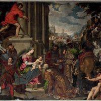 Adorazione dei Magi, di Antonio Gandino (parete destra)