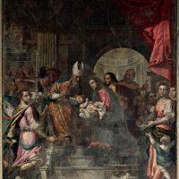 Presentazione di Gesù al Tempio, di Antonio Gandino ( parete destra)