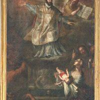 Miracolo di S. Ignazio di Loyola, di Clemente Bocciardo (parete sinistra)