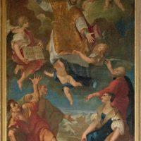 Gloria di S. Ignazio di Loyola, di Giuseppe Tortelli (parete sinistra)