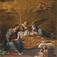Transito di S. Giuseppe, di ambito bresciano (parete sinistra)