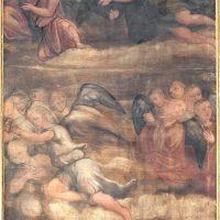 Gloria di angeli, di ambito bresciano (parete di fondo)
