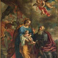Natività di Maria, di Antonio Triva (parete destra)
