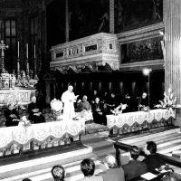 L'incontro con i seminaristi e il clero