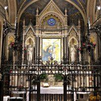L'altare del Santuario