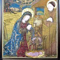 Arazzo fiammingo riproducente l'Immagine del Santuario (sec. XVII)