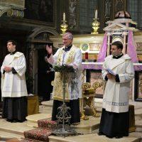 Saluto conclusivo del Vescovo