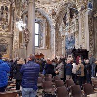 Preghiera presso la reliquia di San Paolo VI