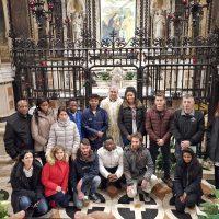 I catecumeni con il Vescovo
