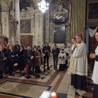 Benedizione delle tessere di Azione Cattolica
