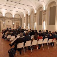 Conferenza nel salone del Santuario