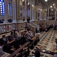 Recita del rosario in Santuario