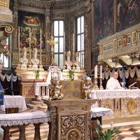 Celebrazione della S. Messa in Basilica