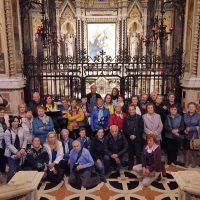 Foto di gruppo in Santuario