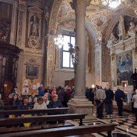 In Basilica presso l'altare con la reliquia di S. Paolo VI