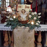 Il Bambino Gesù in Basilica