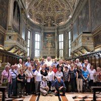Il Gruppo in Basilica