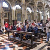 Il gruppo nella Basilica