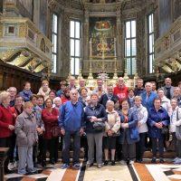 Foto di gruppo in Basilica