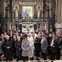 Foto di gruppo nel Santuario
