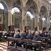 Autorità, membri delle associazioni e fedeli presenti alla Celebrazione