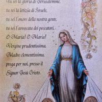 Immagine Madonna Medaglia Miracolosa e preghiera