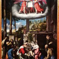 Tela del Moretto presso Pinacoteca