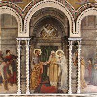 Sposalizio di Maria, di Cesare Bertolotti (parete lato est)