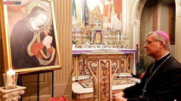 S. Rosario con il Vescovo