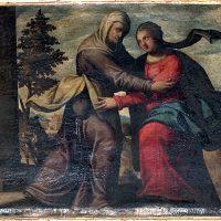 Visita di Maria a Elisabetta, di Tiburzio Baldini (parete destra)