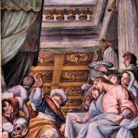 Nozze di Cana (volta del presbiterio), del Fiamminghino