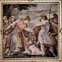 Achimelech offre i pani a Davide (volta presbiterio)